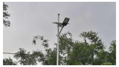 市电路灯改造太阳能LED路灯的一个快速方法