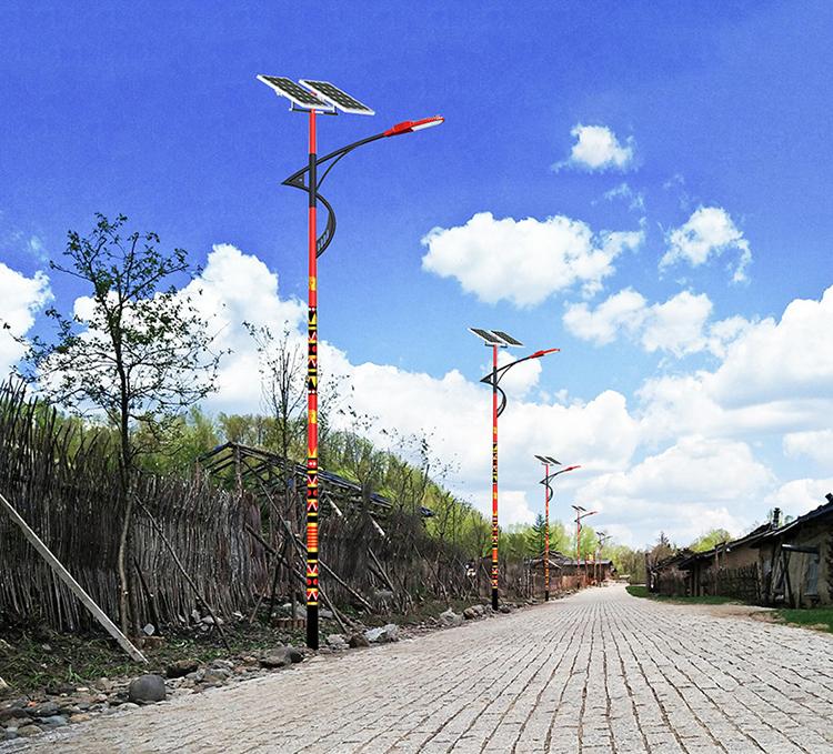 新农村太阳能路灯_太阳能民族特色路灯_太阳能特色路灯