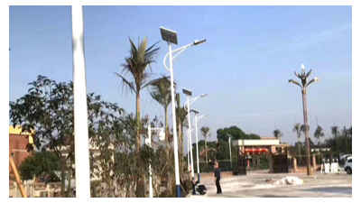 8米50w光伏太阳能路灯价格是多少