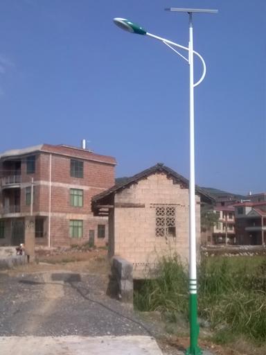 安徽省望江县60套新农村太阳能路灯工程案例