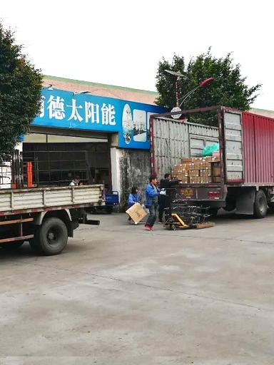 广东省慧州市龙门县汉镇太阳能路灯装车发货