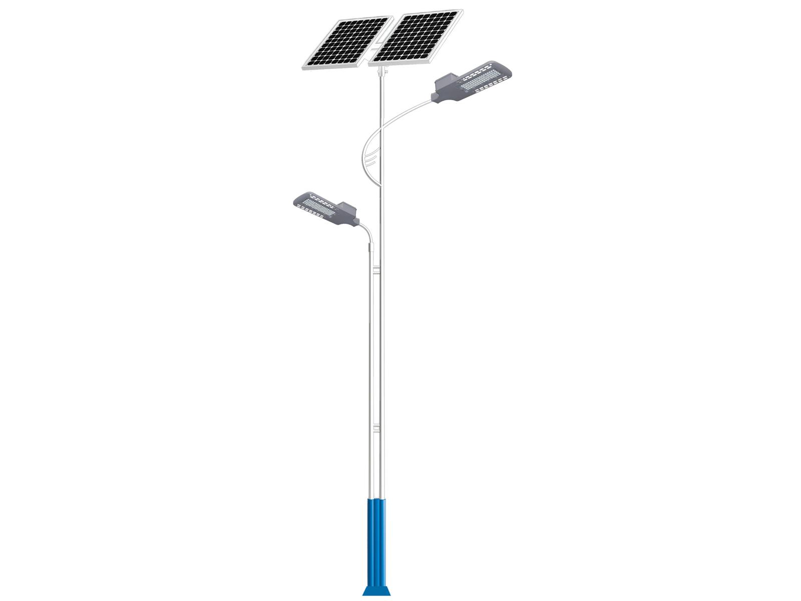 太阳能两头路灯