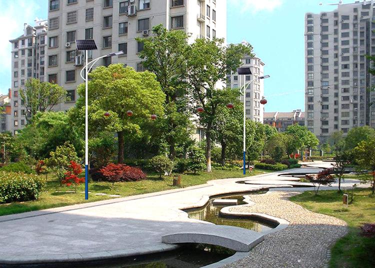 小区太阳能路灯_公园太阳能路灯_30W太阳能路灯
