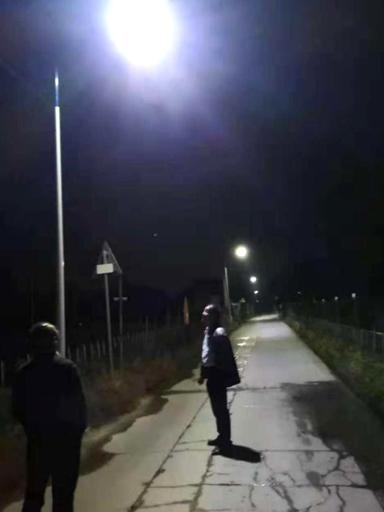 安徽省泗县高集村太阳能路灯工程案例