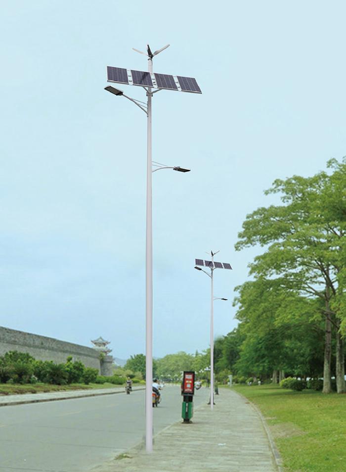 8米太阳能路灯_风光互补太阳能路灯_太阳能路灯价格及图片