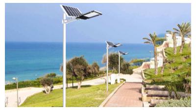 太阳能路灯走向民用化