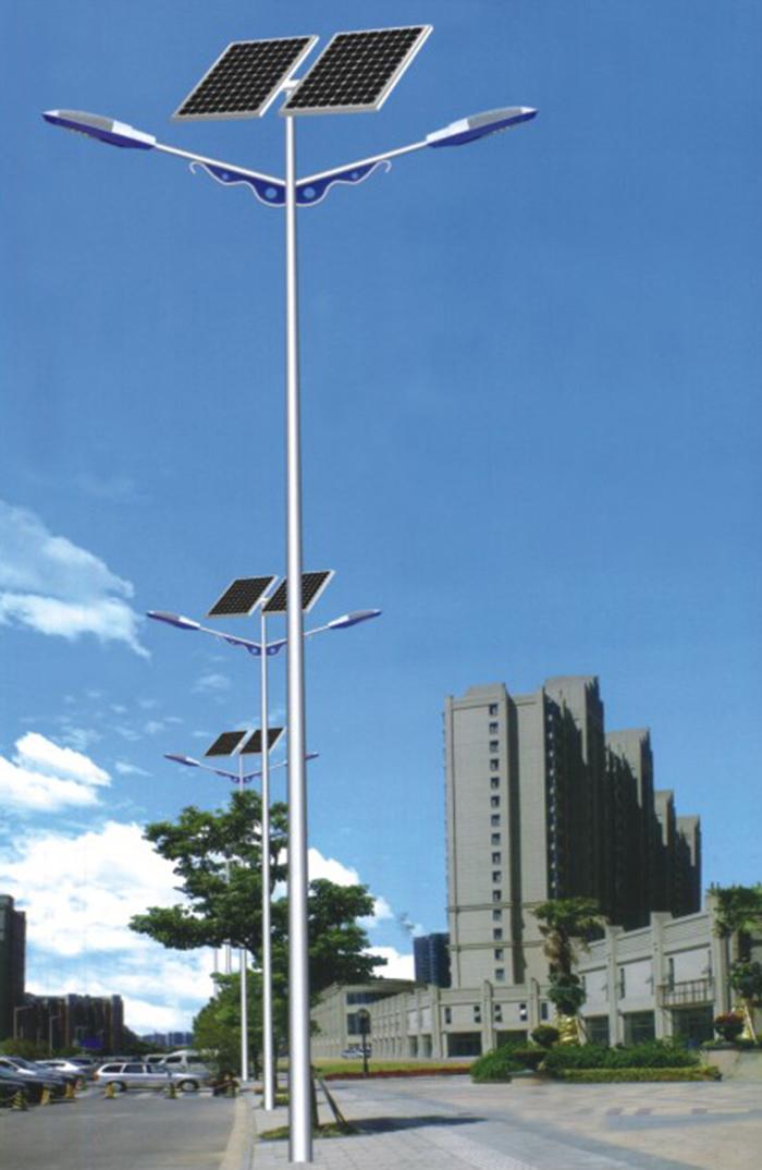 双头太阳能路灯 100W太阳能路灯 南德太阳能灯饰有限公司
