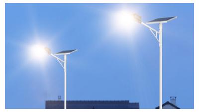 6米太阳能路灯更普遍的进行市场前景