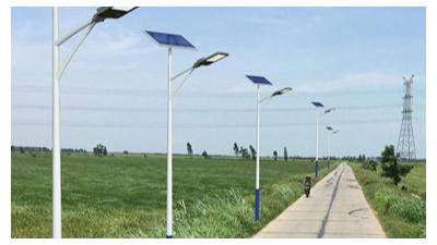 太阳能路灯led较为理想化的倾角安装