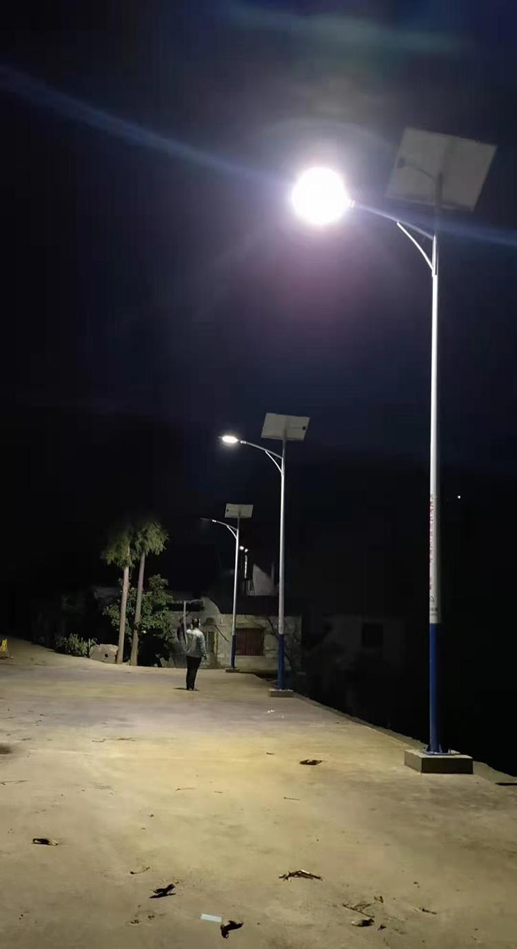 广西太阳能路灯_乡村太阳能路灯_6米太阳能路灯