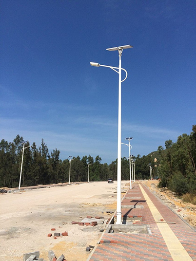 海南省昌江黎族自治区市政太阳能路灯工程案例