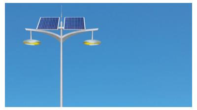 太阳能路灯灯杆高度不是那么随意的