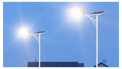 锂电池太阳能路灯拥有别的不一样的优势