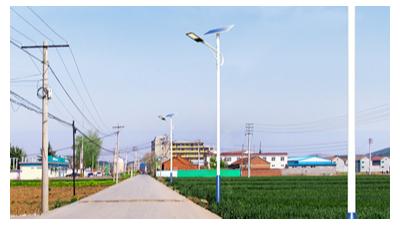 6米太阳能路灯更合适城镇村道照明的原因