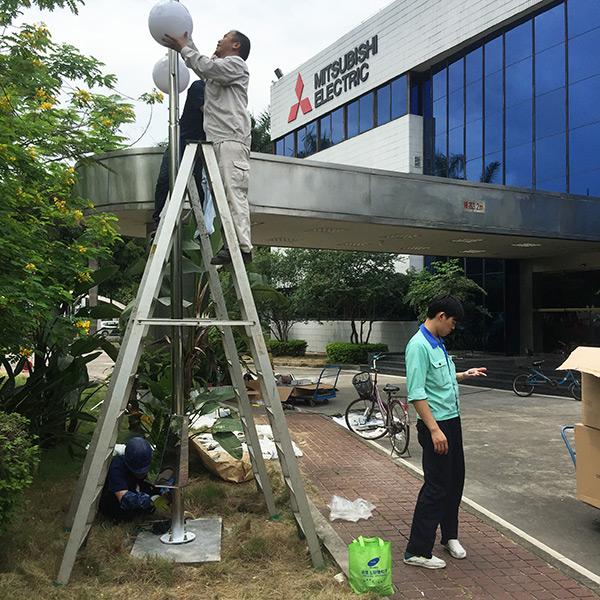 广东省广州市黄埔经济技术开发区西区房地产工程案例