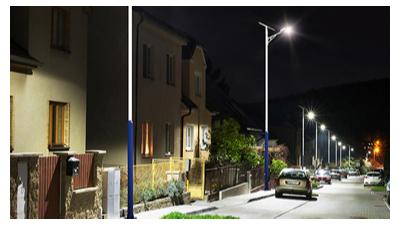 农村太阳能路灯在城镇路面的销售市场