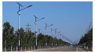 选择太阳能led路灯生产厂家必须对全面性开展比照