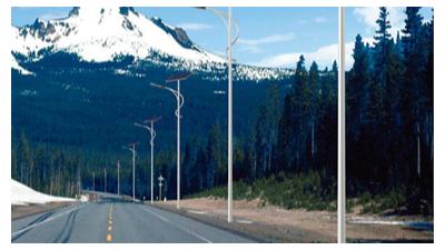 LED太阳能路灯安装间距多少?