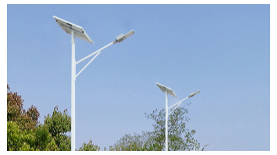 led太阳能路灯不正确的安裝方法