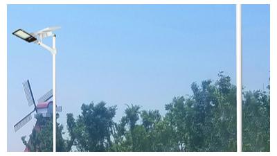 新农村太阳能路灯运用范畴早已十分广
