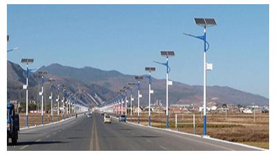 6米Led太阳能路灯各层面的优点愈来愈多了