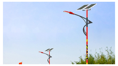农村太阳能led路灯安裝,大力支持节能国家环保政策