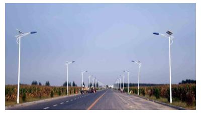 太阳能道路灯何时走进了我们的生活?