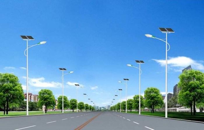 太阳能LED路灯 太阳能道路灯 农村太阳能路灯