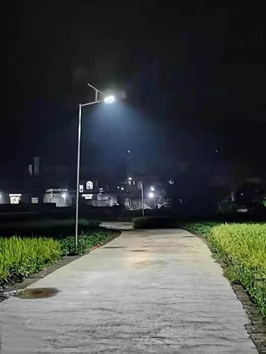 广西省贺州市安装新农村太阳能路灯