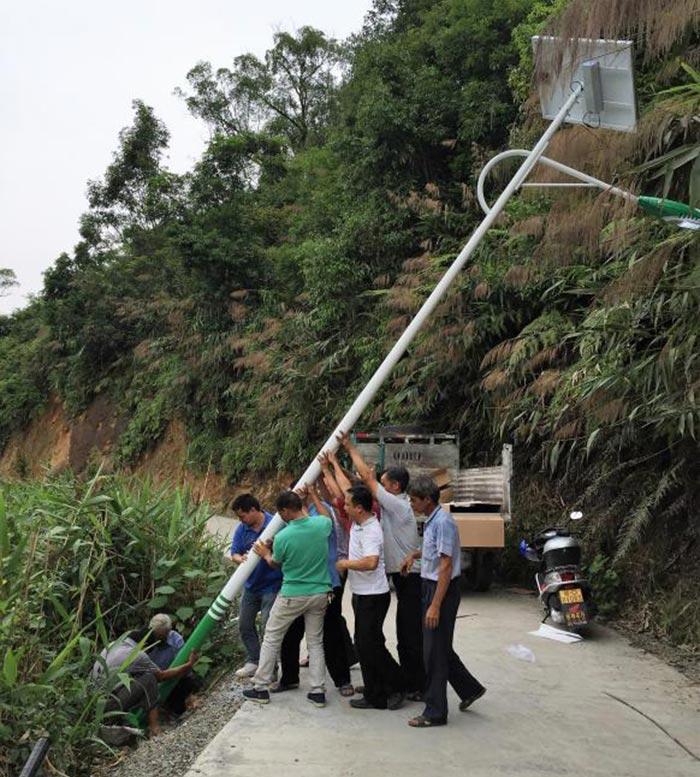 湖南郴州太阳能路灯