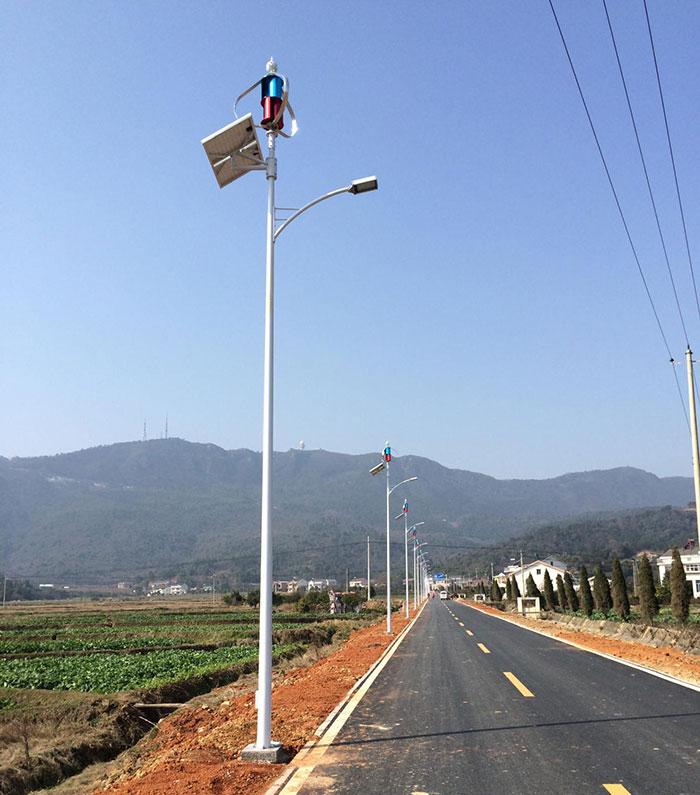 湖南太阳能风光互补路灯