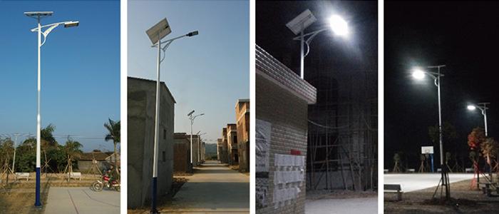 LED太阳能路灯 农村太阳能路灯 太阳能路灯价格及图片