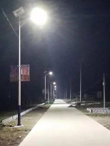 海南澄迈老城农村太阳能路灯替换工程