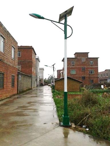 广西崇左太阳能路灯工程案例