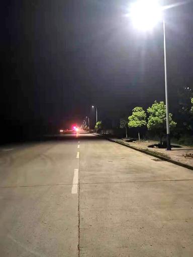 湖北黄冈武穴市8米led太阳能路灯