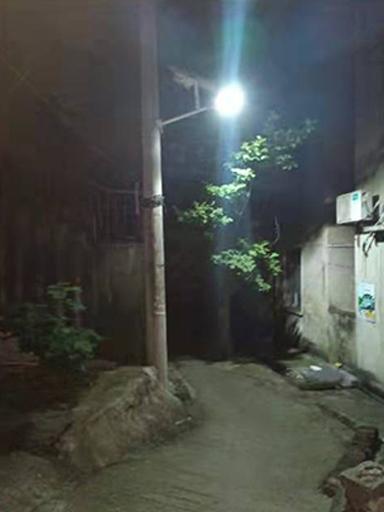 湖北鄂州太阳能路灯系统