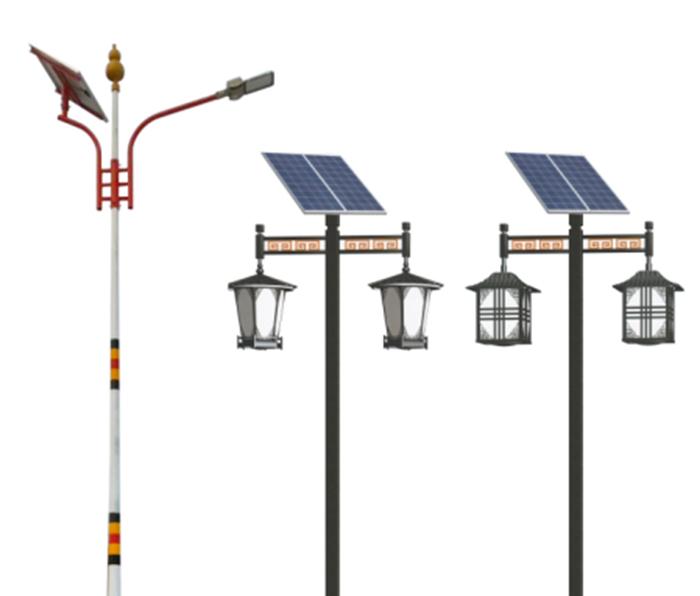 太阳能仿古路灯 太阳能庭院灯 南德