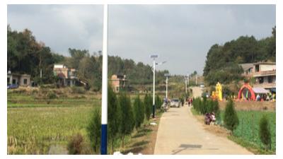 安装农村太阳能路灯需要注意的地方有哪些