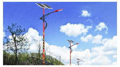 新农村规划,离不了太阳能路灯机器设备