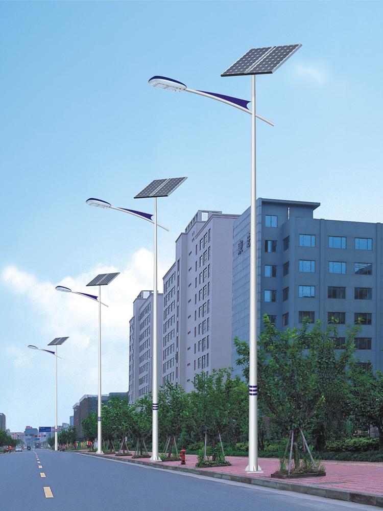 市政太阳能路灯_太阳能道路灯_led太阳能路灯