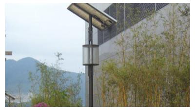 南德站:盐田太阳能庭院灯