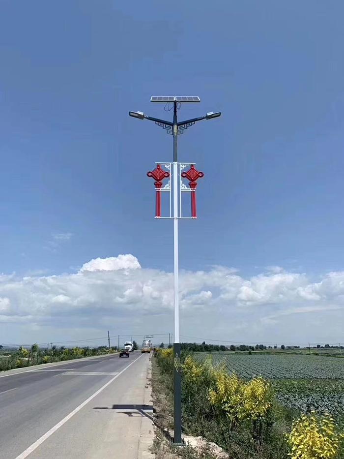 太阳能LED路灯 中国结路灯 太阳能路灯厂家