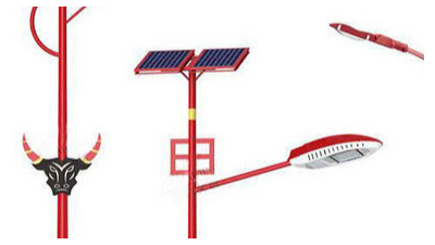 6米太阳能路灯要确保一切正常的工作中有几个方面必须留意