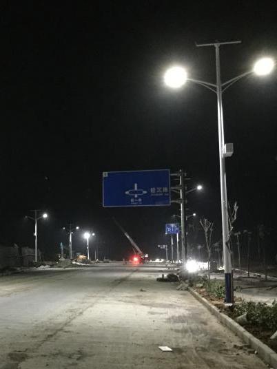 广西百色市田阳县太阳能路灯工程案例