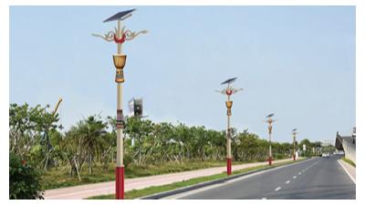 太阳能路灯为什么那麼受农村普通百姓亲睐?