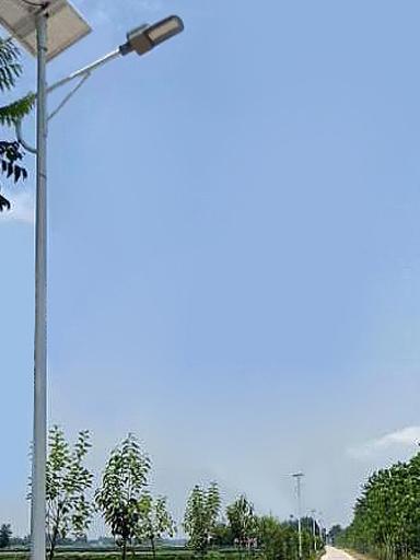 湖南长沙亮化太阳能路灯工程引出一段励志人生
