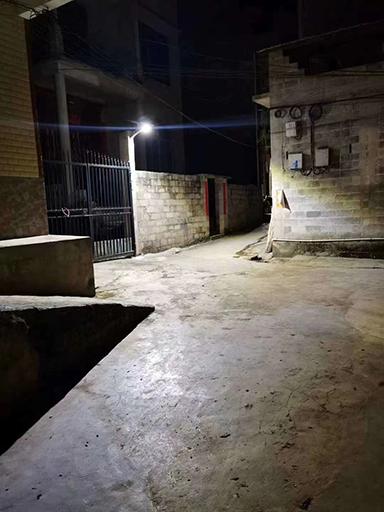 福建省英都镇坂头村将添150盏新农村太阳能路灯