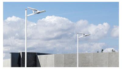 太阳能路灯灯杆高度如何选择?
