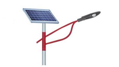 在农村用的太阳能路灯不可以配搭配备,假冒伪劣
