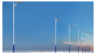 led太阳能路灯已广泛用在大家生活道路到了